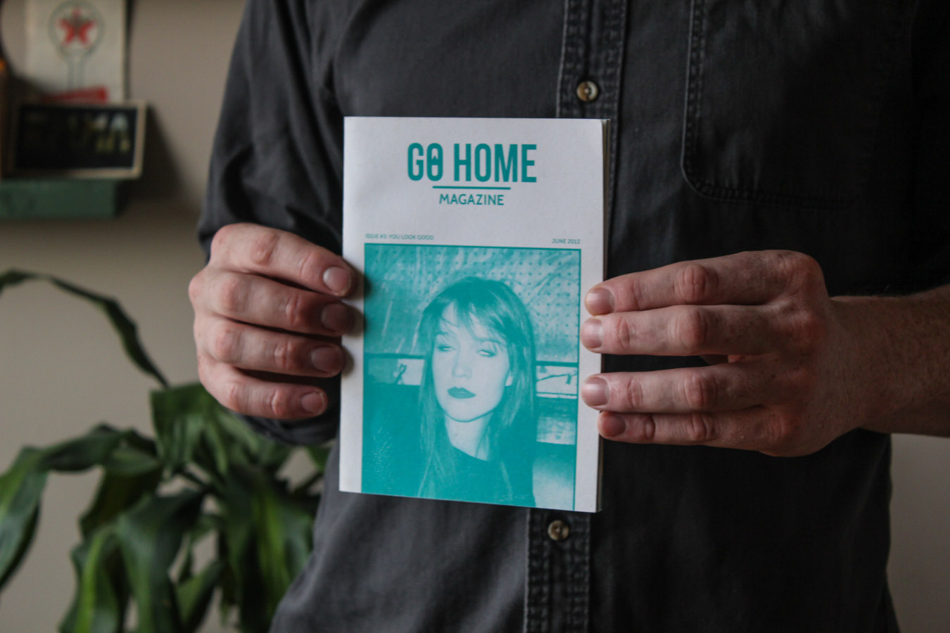 Emma Sharpe Go Home Print independent print toronto go home magazine